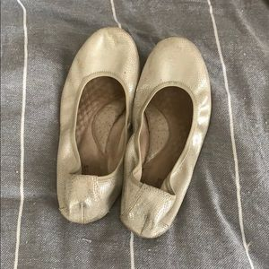 Hush Puppies Shoes - Hush Puppies silver ballet flats